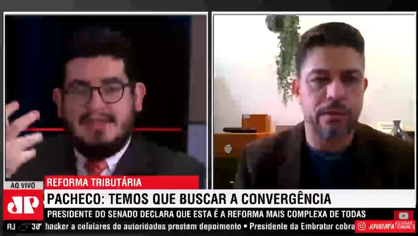 Reforma tributária - Entrevista André Felix Ricotta - Jovem Pan - 22.05.2021